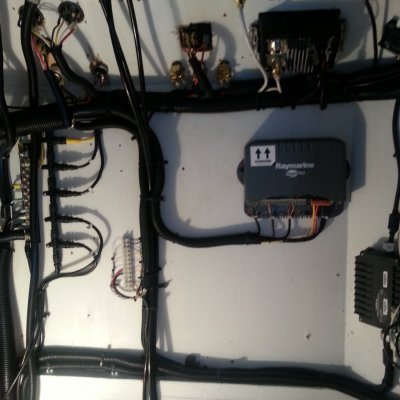 AFTER- CUSTOM SYSTEMS WIRING UNDER HELM