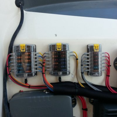 AFTER- Helm Rewire & Circuit Protection Upgrade
