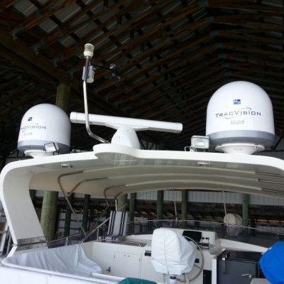 KVH M7, Matching Dome, Garmin Radar