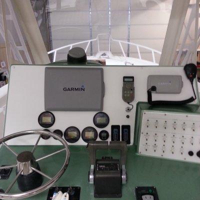AFTER-Custom Helm Panel- New Electronics