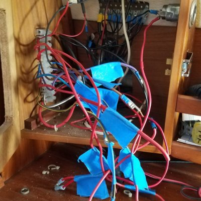 Panel wiring before